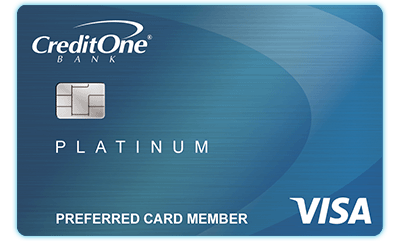 Image result for Credit One Platinum Visa Credit Card