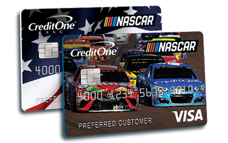 Nascar Credit One Bank Credit Card