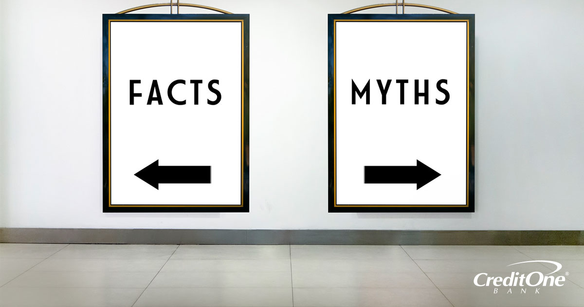 How to separate what is a credit fact vs what is a credit myth