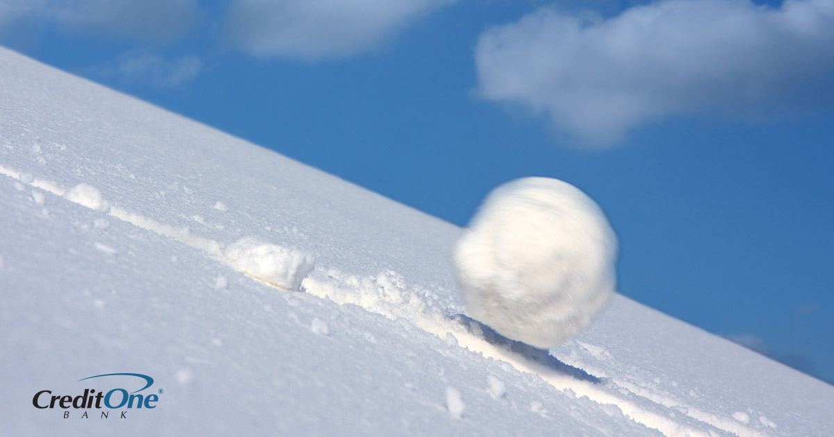 The snowball approach to getting out of debt