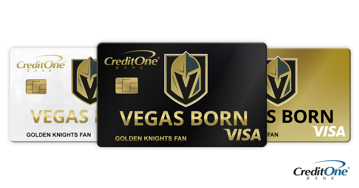 The Official Credit Card of the Vegas Golden Knights