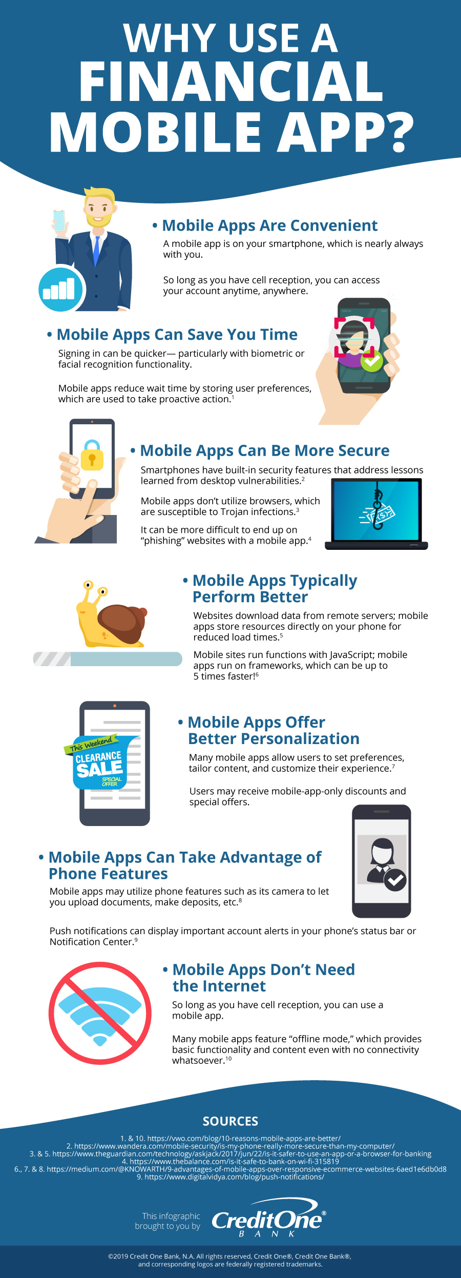 Financial Mobile App Advantages [Infographic]