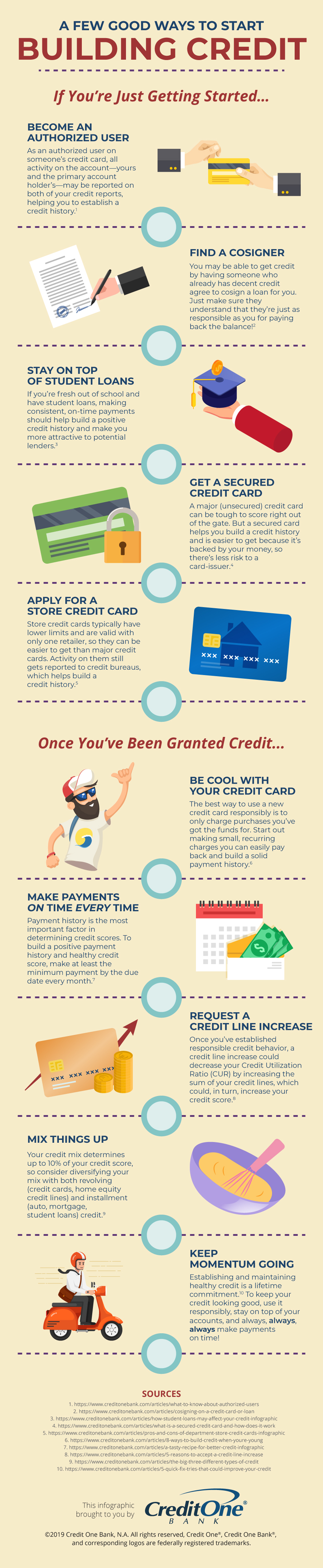Tips for Building Credit