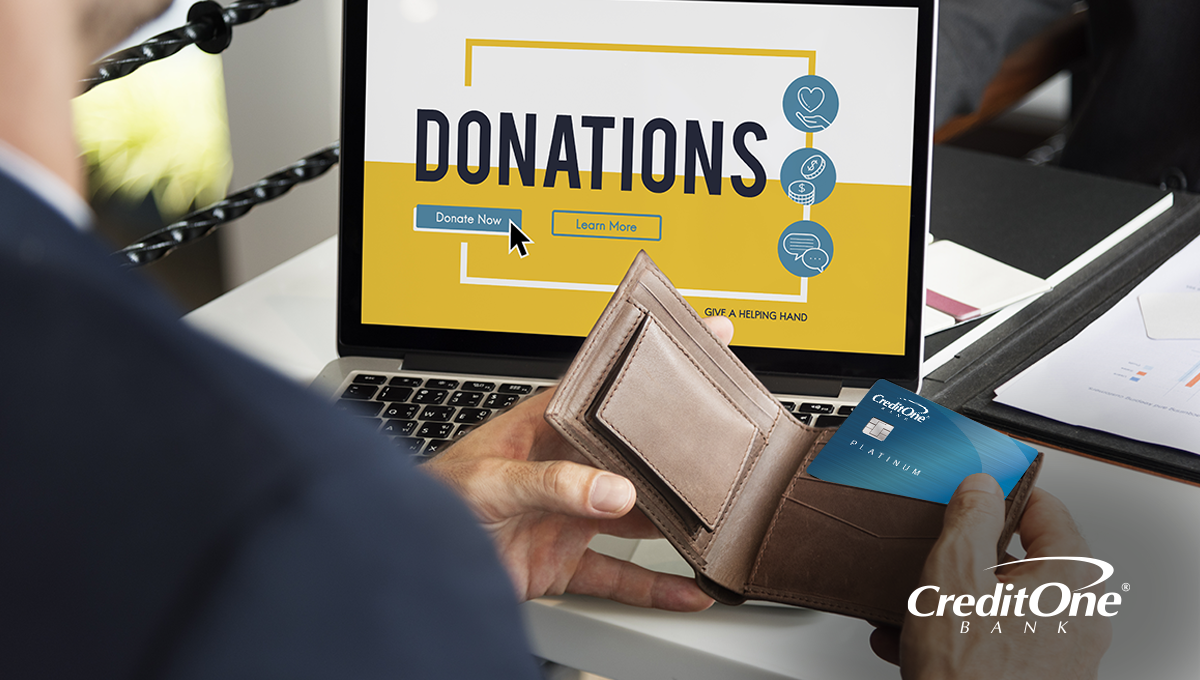 Donate to Charity with Credit Cards