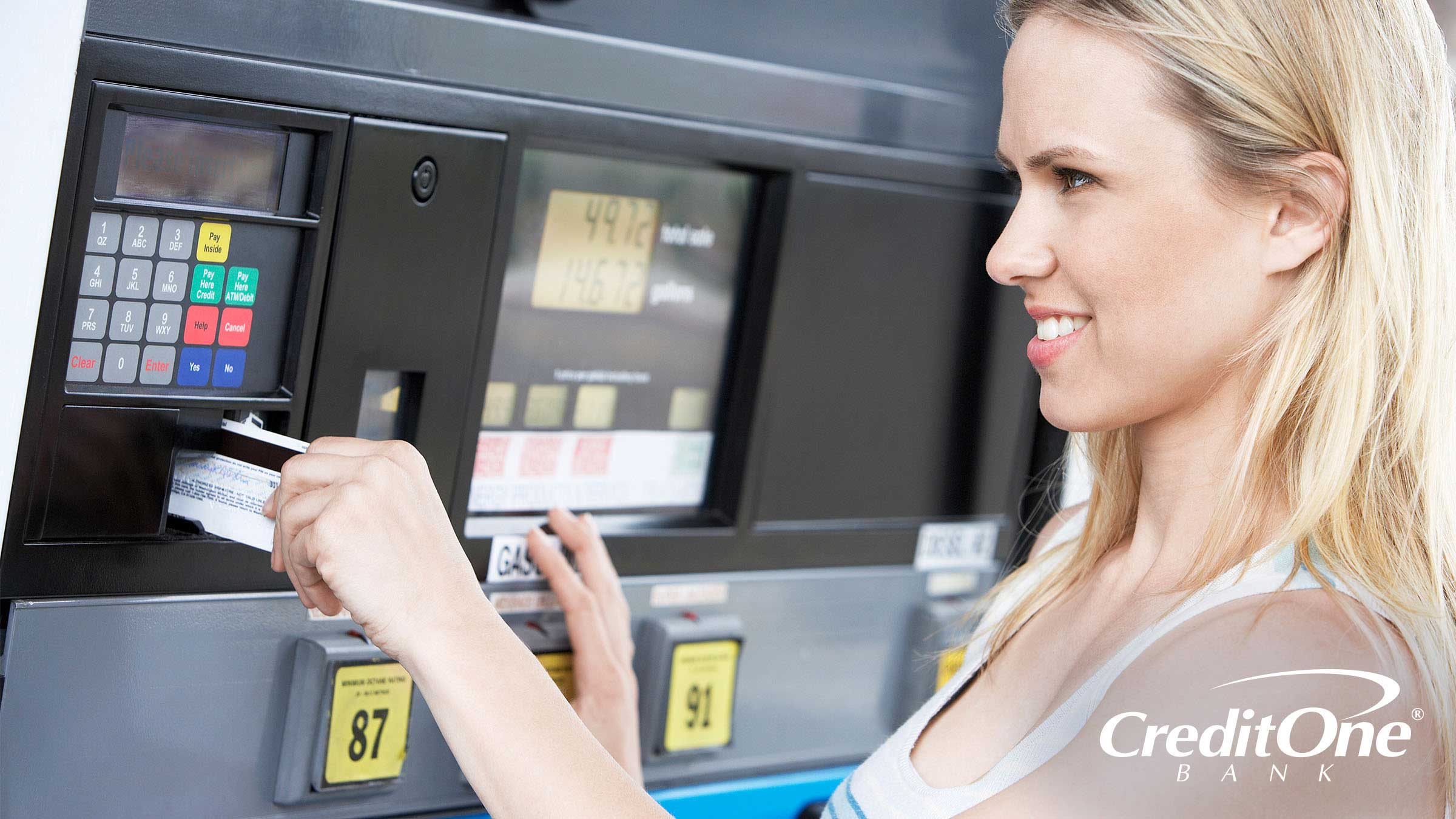Using a Credit Card to Buy Gas