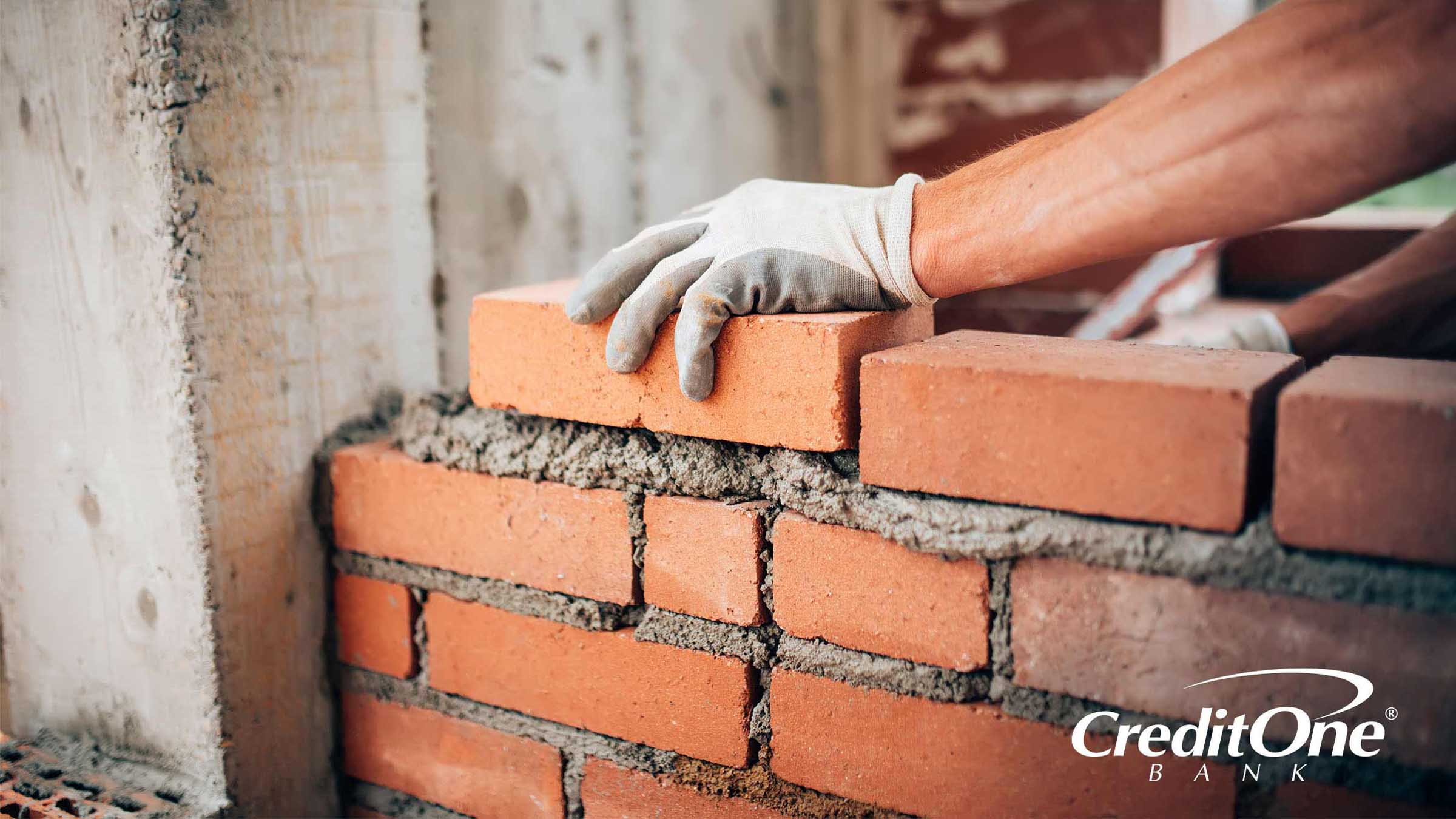 Building a solid credit foundation brick by brick