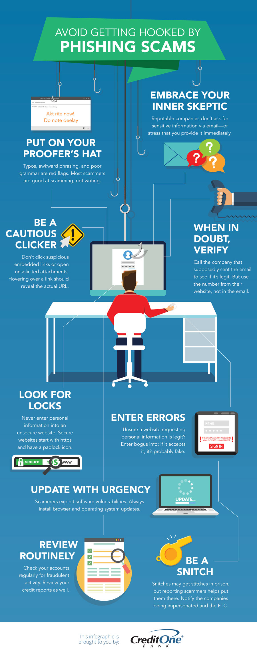 How to Avoid Getting Phished [Infographic]