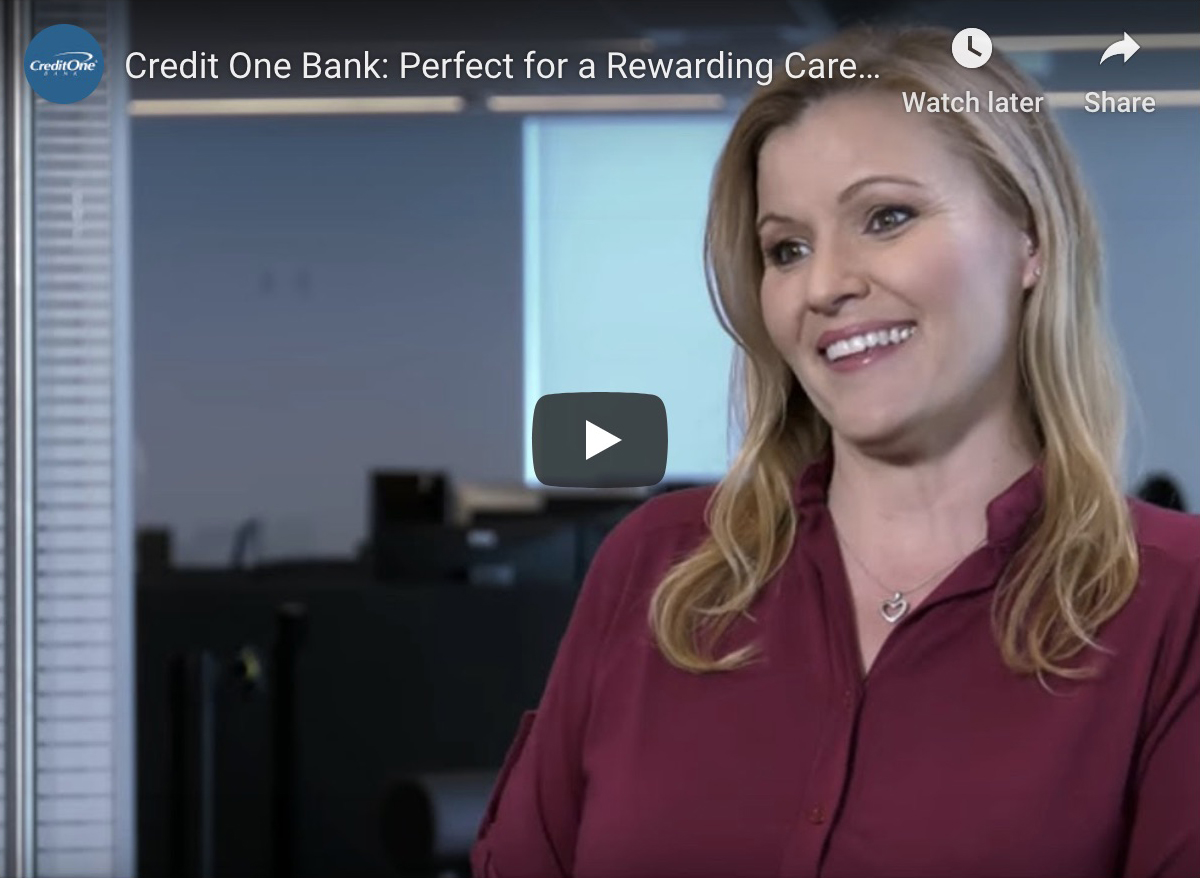 Credit One Bank: Perfect for a Rewarding Career