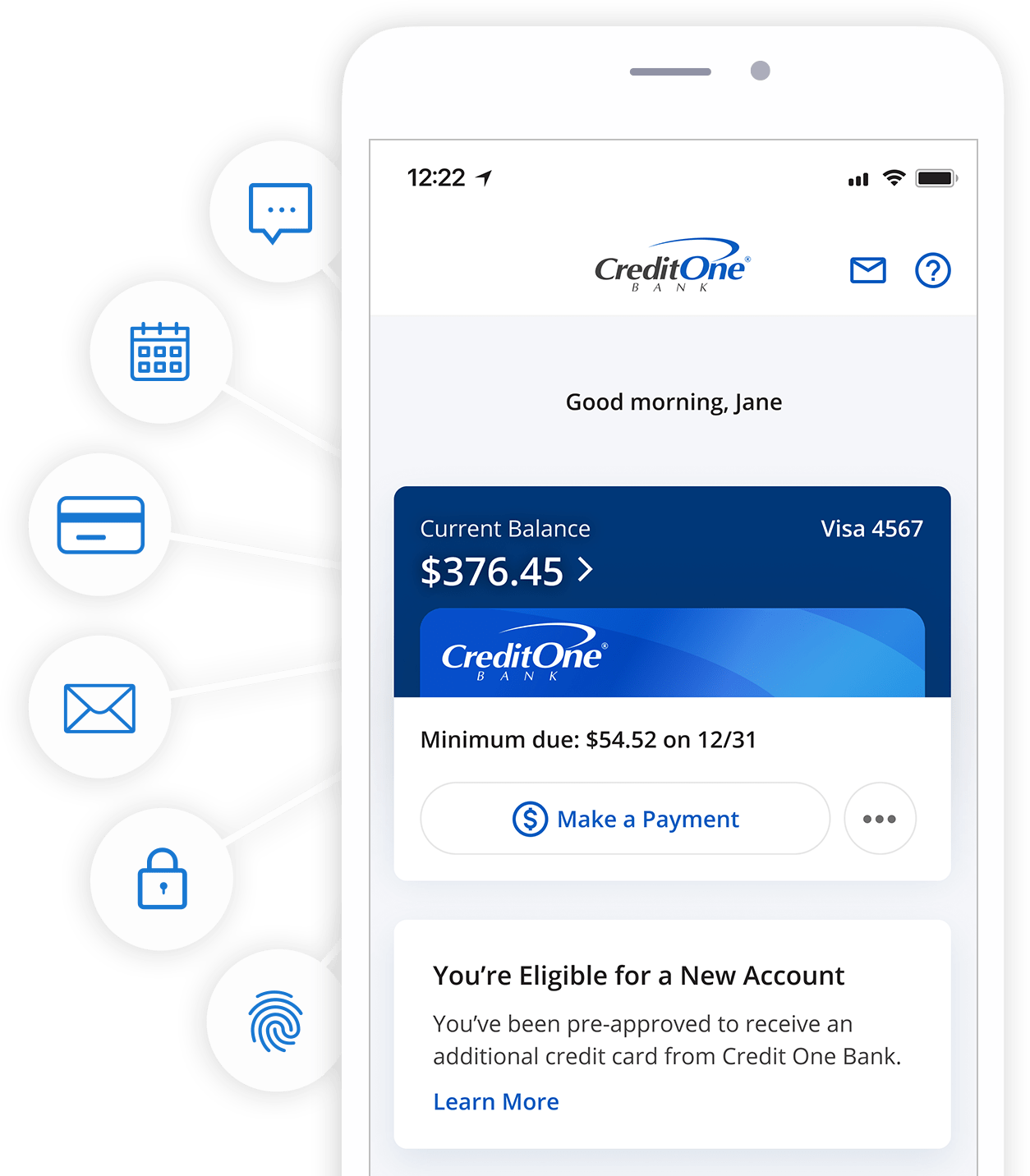 Credit One Bank Mobile App for Online Banking Credit One Bank